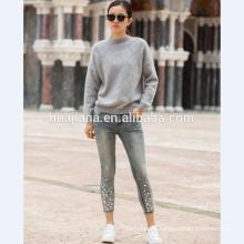 2017 fashion woman's cashmere knitting sweater