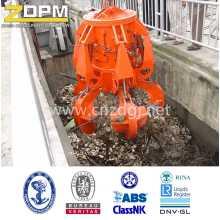 Déchets élimination électrique hydraulique Mutivalve Grab seau