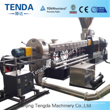 CE Complete Tsh-65 Hot Cutting Twin Screw Extruder