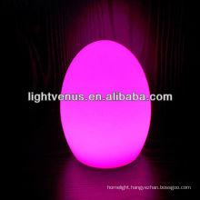 Egg shape coffee table lamps restaurant lighting ideas