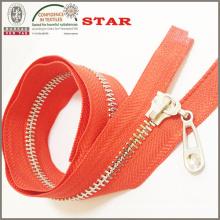 2016 Brass #5 Open End Zipper for Garments
