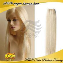 Brasilianische Jungfrau Remy Haarfarbe 613 blonde Haare weben Großhandel