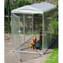 Двойная дверь металлических собак клетке щенок путешествия Кейдж / порошок с покрытием собак Кейдж / Pet Cage