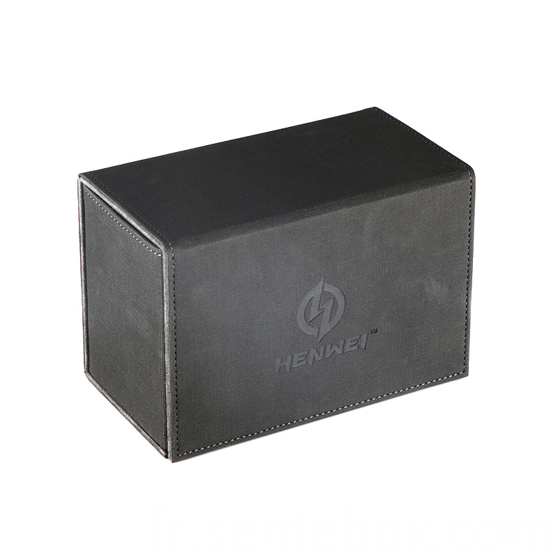 PU leather multifunctional deck box