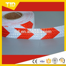white red, arrow reflective Tape