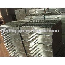 Couvercle de drainage métallique, Grille de drainage métallique, Trench en métal, grille métallique