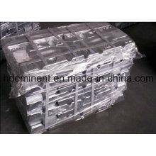 Fabricant pour 99,95% de lingots de zinc / lingots de zinc pur