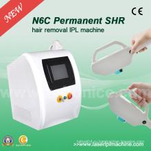N6c Shr IPL Быстрая перманентная депиляция 2000W IPL Лазерная эпиляция машины