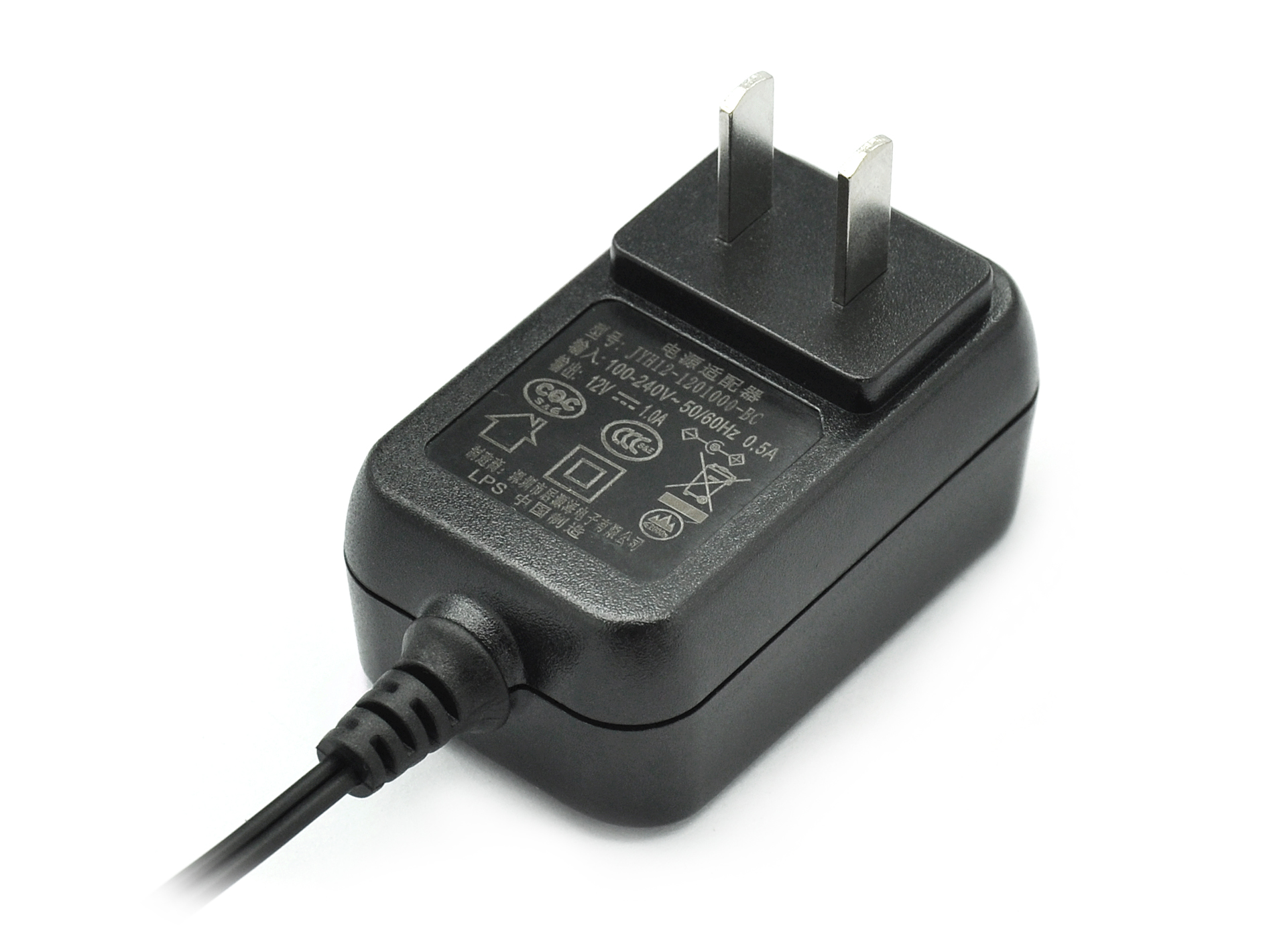 12V 1A 24V 0.5A Switching Power Adapter Chinese Plug