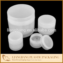 cosmetics packaging with PP double wall the round corner jar