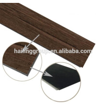 Klicken Sie auf Vinyl-Bodenbelag Planke mit Holz Textur PVC Klickboden Plank