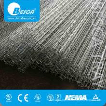 Alambre que pone la bandeja de cable de la malla de alambre de Electrozinc para la ayuda del cable
