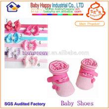 Chaussettes et bandeau de qualité pour bébé