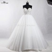 RSW909 China Crystal Beads For Wedding Factory Dresses Ball Gown