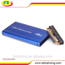 2.5 Aluminum External Hard Disk Case IDE