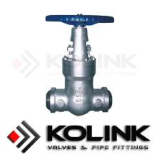 Válvula de retenção de vedação de pressão Tipo de controle operado manualmente