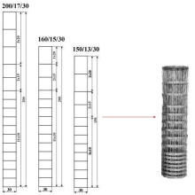 Maille métallique nouée en galvanisé Bonne qualité