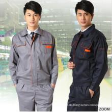 Männer Uniform mit waschbaren Monochrom-Multifunktions-Work Wear