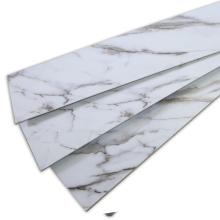 Revêtement de sol SPC en grain de marbre naturel pour la décoration intérieure
