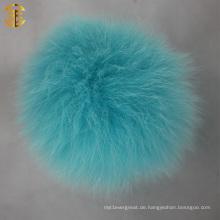 Colorfur Pelz Pompoms Großhandel Fox Pelz Pom Poms Schlüsselbund