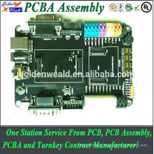 Double Side Immersion Gold Circuit Board Assembly with LEDs electronic meter pcba