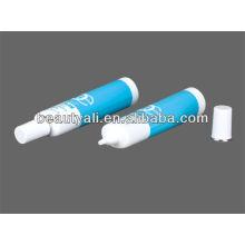 Oval plastic tube