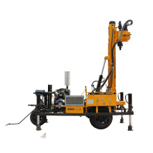 air pump china drilling rig HQY200 Construction site borehole drilling rig