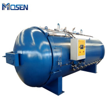 Electric heating manually inflatable silicone ring autoclave rubber covered roller vulcanization tank