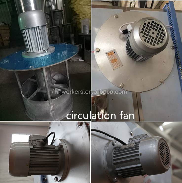 304 stainless steel acai berry trays high quality hot air circulation dryer chalk drying equipment herb fruit machine