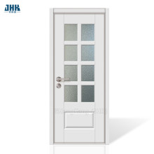 JHK 8 Lites Clear Door Interior Door
