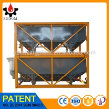 SDDOM Silo horizontal apilable de la venta 40m3 de la planta de mezcla concreta caliente del cemento