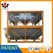 SDDOM Hot sale 40m3 usine de béton empilable Horizontal Cement Silo