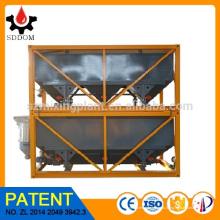 SDDOM Горячая продажа 40m3 бетоносмесительная установка штабелируемый горизонтальный цементный силос