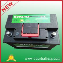 Superior Starter Blei Säure Wartung Kostenloser Akku Auto DIN75mf 12V75ah Auto Batterie Großhandel