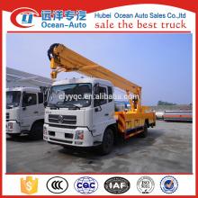 hot selling Dongfeng Kingrun 22m folding work platform from original factory