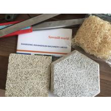 Máquina de procesamiento de lana de máquina de lana de madera
