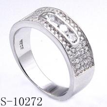Anneaux de bijoux en argent pour l'accessoire de bijoux de mode de femmes (S-10272)