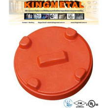 FM/UL Ductile Iron Grooved End Fittings Fire Pipe Cap.