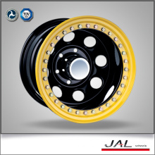 Best Design Modular Black Color 4x4 Wheels Rims Trailer Wheel Rim