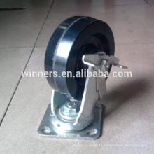 Roulette pivotante phénolique de 8 pouces haute température