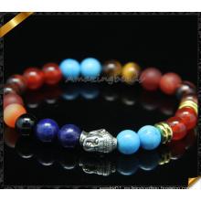 ODM Pulseras Joyas hechas a mano de la pulsera de Buddha con el grano de la piedra preciosa (CB0111)
