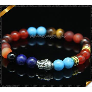 ODM Pulseiras Handmade Buddha Pulseira Jóias com Gemstone Bead (CB0111)