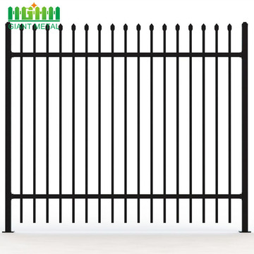 PVC+Coated+Metal+Picket+Fence%2FOrnamental+Fence