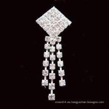 Broche de perlas de agua dulce de moda