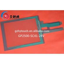 Custom 5 polegadas Resistiva Matrix Painel de tela sensível ao toque com vidro ITO