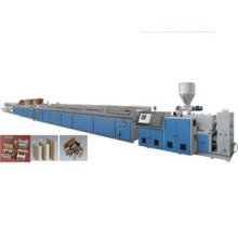 PE Wood Plastic Profile Production Line