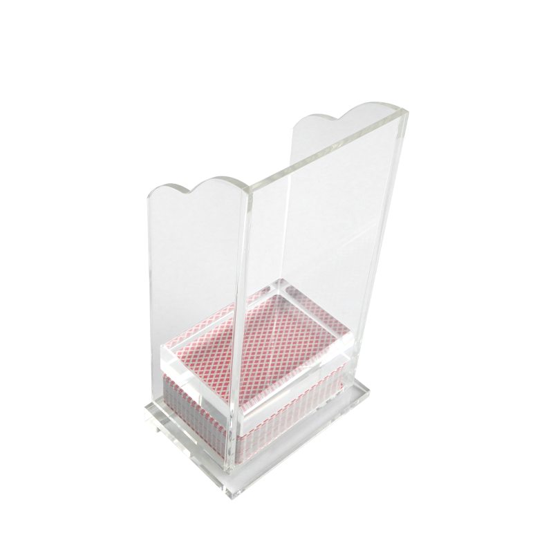 High Quality Acrylic Blackjack Discard Holder