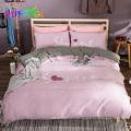 Juego de cama de bambú puro ropa de cama de bambú orgánico