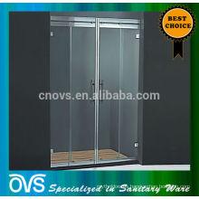 puerta de ducha de panel de ducha deslizante de vidrio en línea moderna k-8
