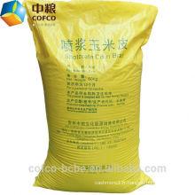 Aliments pour animaux à base de gluten de maïs